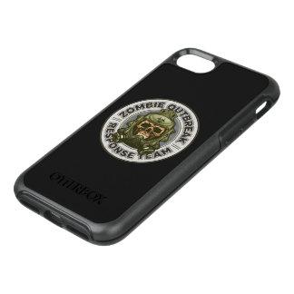 Zombie-Ausbruch-Warteteam OtterBox Symmetry iPhone 8/7 Hülle
