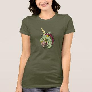 Zombie-Einhorn-T-Shirt T-Shirt