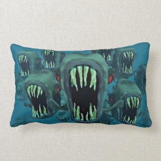 Zombie-Fische Kissen