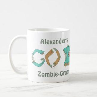 Zombie GEHEN ZURÜCK Aussenseiter lustiger, den Art Tasse