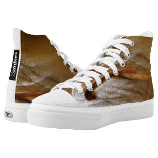 Zombie-Haut-hohe Spitzen durch BoardZombies Skate Hoch-geschnittene Sneaker