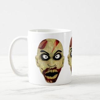 Zombie-Köpfe Kaffeetasse