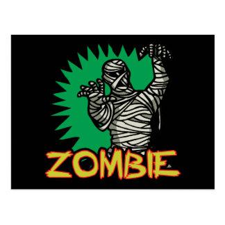 Zombie-Mama-Postkarte Postkarte