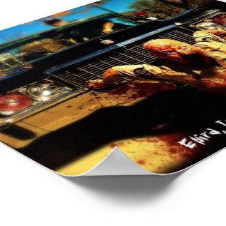 Zombie-Mörder-Plakat Poster