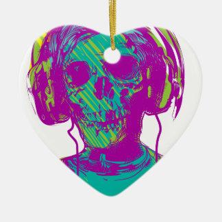 Zombie-Musik Keramik Ornament