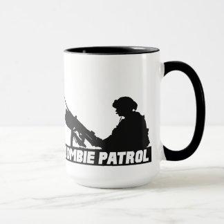 Zombie-Patrouille - auf der Gewehr-Kaffee-Tasse Tasse