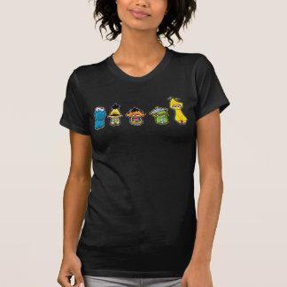 Zombie-Sesame Street-Charaktere T-Shirt