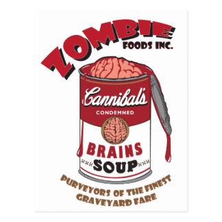 Zombie-Suppe Postkarte