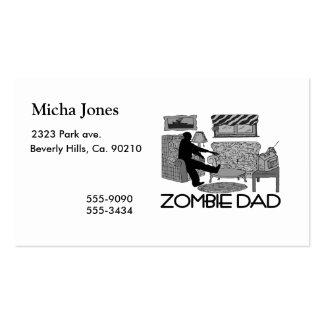 Zombie-Vati Visitenkarten