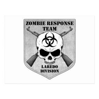 Zombie-Warteteam: Laredo-Abteilung Postkarte