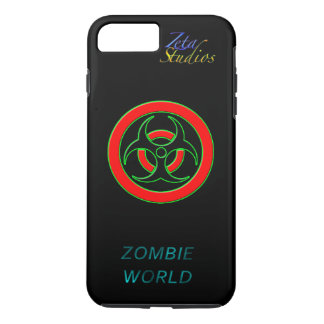 Zombie-Welt steckte das iPhone an 7, das Plus ist, iPhone 8 Plus/7 Plus Hülle