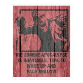 Zombies - die Apokalypse kommt Postkarte