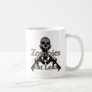 Zombies essen Führung Kaffeetasse
