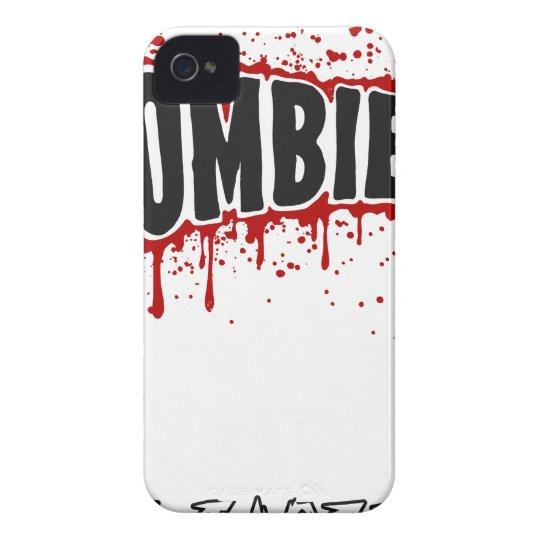 Zombies hassen Schnellimbiß iPhone 4 Cover