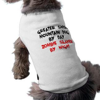 Zombieslayer-größerer Schweizer Gebirgshund Ärmelfreies Hunde-Shirt