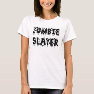 Zombieslayer-Mädchen-T-Shirt T-Shirt