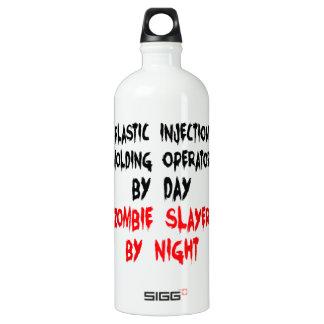 Zombieslayer-Plastikspritzen-Betreiber Aluminiumwasserflasche