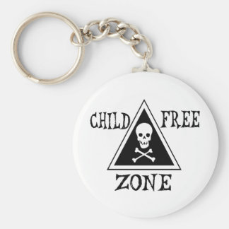 Zone Sans Enfant Porte-clef