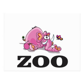 Zooelefantgag Postkarte