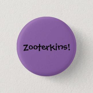 Zooterkins! Runder Button 3,2 Cm