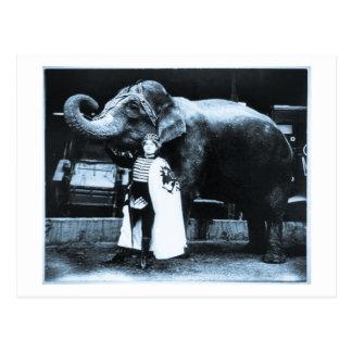 Zora und Trilby 1916 Postkarte