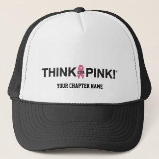 ZTA denken Rosa! Truckerkappe