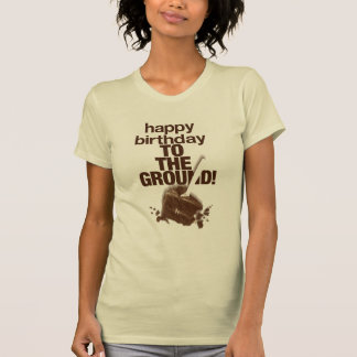 Zu Boden T-Shirt
