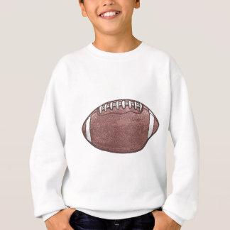Zu groß Fußball-Gang versagen Sweatshirt
