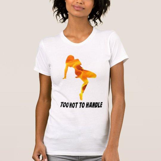 Zu heiß T-Shirt Entwurf bearbeiten