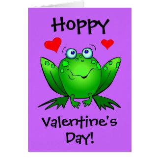 Zu meiner Karte Prinzessin-Hoppy Valentines Cute