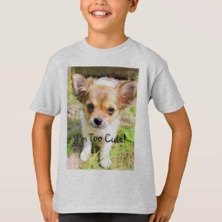 Zu niedlicher Welpe T-Shirt