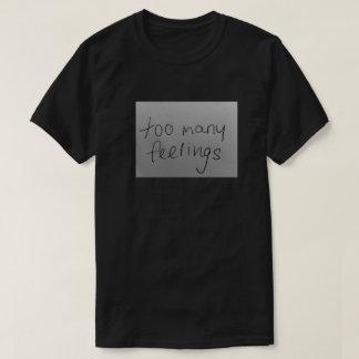 zu viele glaubt T-Shirt