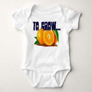 zu wachsen baby strampler