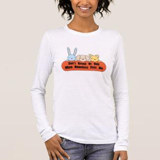Züchten Sie nicht oder kaufen Sie Langärmeliges T-Shirt