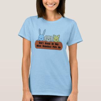 Züchten Sie nicht oder kaufen Sie T-Shirt
