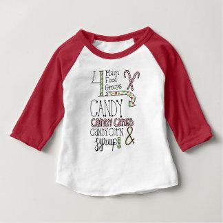 Zuckerhaltige Lebensmittelgruppen Baby T-shirt