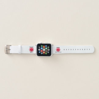 Zuckerkranker Typ 1 Apple Watch Armband