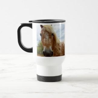 Zuckern Sie das Appaloosa-Pferd, Reisebecher