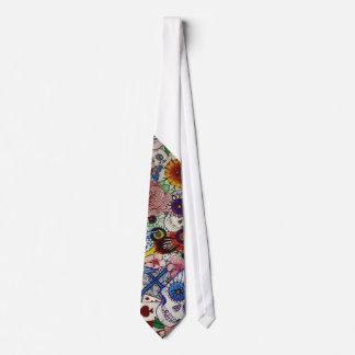 zuckern Sie Schädeltag der Krawatte der toten