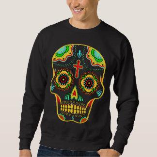 Zuckerschädel farbenreich sweatshirt