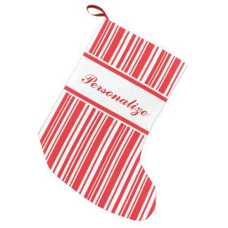 Zuckerstange-Streifen Kleiner Weihnachtsstrumpf