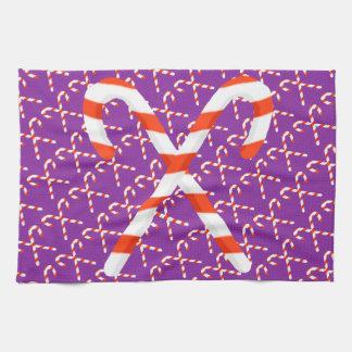 Zuckerstange-WeihnachtsGeschirrtuch Handtuch