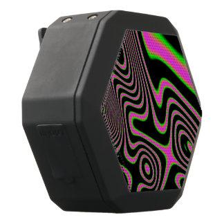 Zuckerwatte Trippy abstraktes Schwarze Bluetooth Lautsprecher