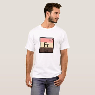 Zufuhr-Stolzfrancium-Element-T - Shirt Feedist