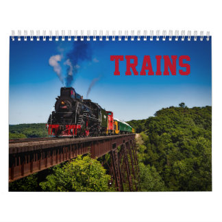Zug-Foto-Kalender Wandkalender
