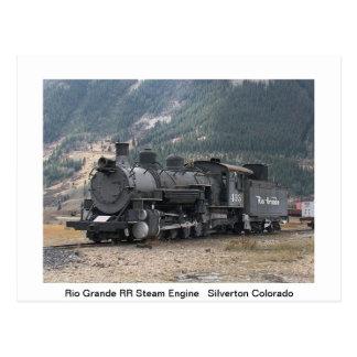 Zug-Postkarte Postkarte