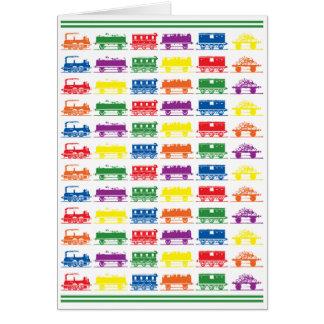 Züge - Grün Karte