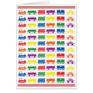 Züge - Rot Karte