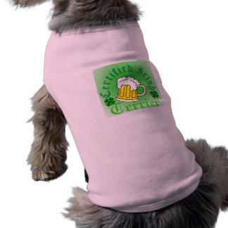 Zugelassene Iren, Terrier, Hündchen-T - Shirt