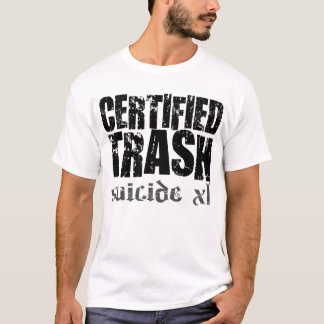 zugelassener Abfall T-Shirt
